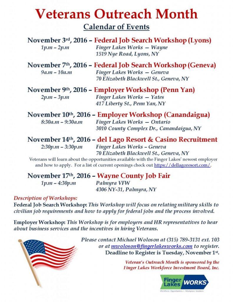 vets month calendar flyer 2016