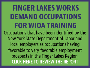 Finger Lakes Works Demand Occupations for WIOA Training