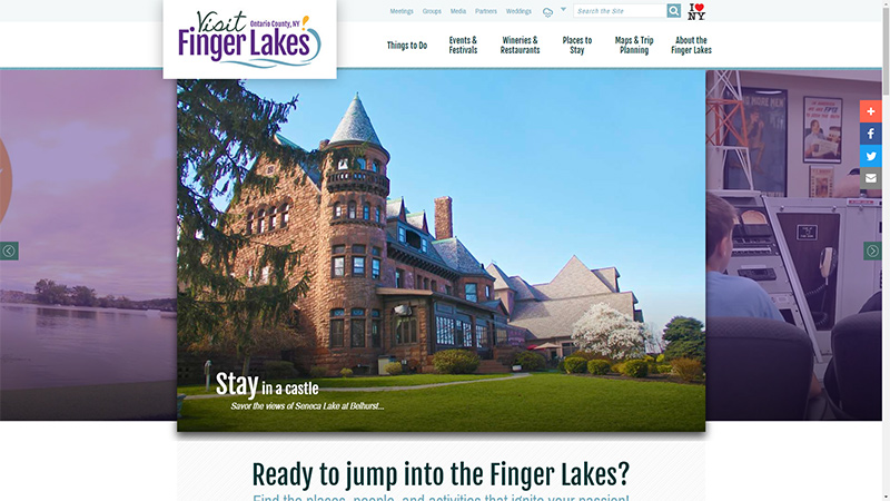 Visit the Finger Lakes